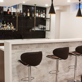 Whitby Modern Basement Bar and Gym