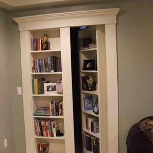 Idées déco pour un sous-sol classique.