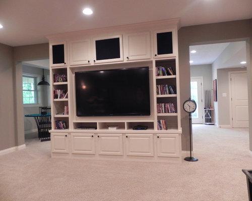 basement entertainment center home design ideas renovations photos