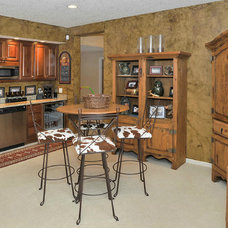 Traditional Basement by G3 Studios Decorative Painting