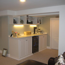 Traditional Basement by California Closets