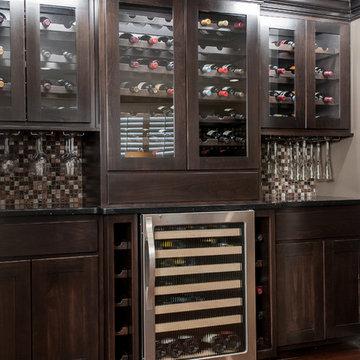 Wine bar remodel st. louis