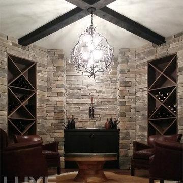 Wine Tasting Room, Custom Basement