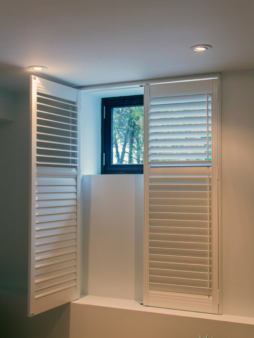 Egress window treatment home design ideas pictures for How much do motorized blinds cost
