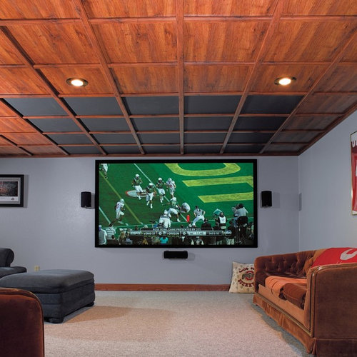 20 Cool Basement Ceiling Ideas: Basement Drop Ceiling Home Design Ideas, Pictures, Remodel