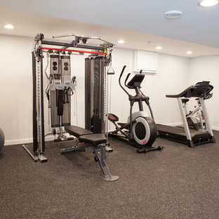 Work Out Gym Basement in Barrington Hills