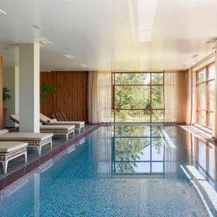 На фото: бассейн в современном стиле