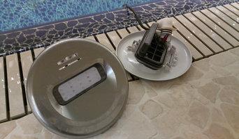 Замена прожекторов без слива воды