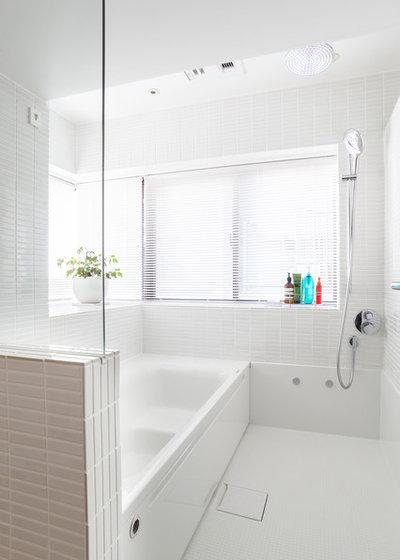モダン 浴室 by blue studio