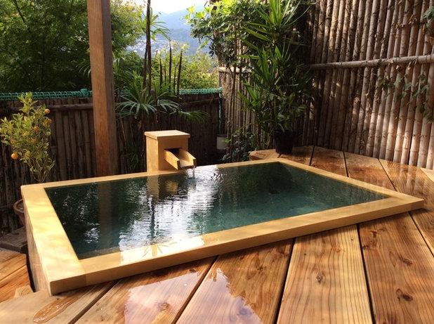 Zeit sich was gutes zu tun bade und wellnesstraditionen for Badezimmer japanisch