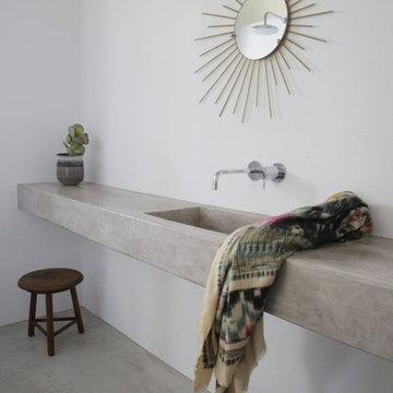 コンテンポラリー バスルーム