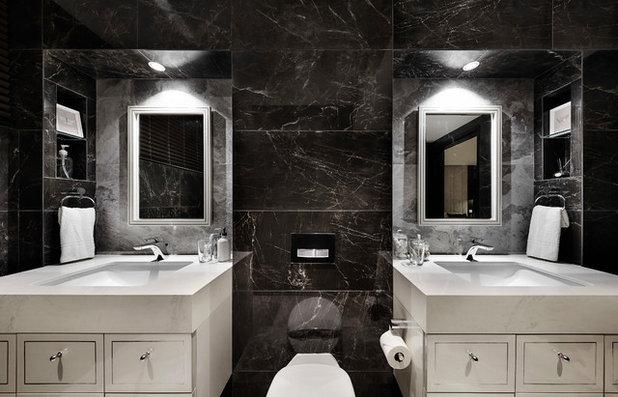 Contemporary Bathroom by akiHAUS Design Studio