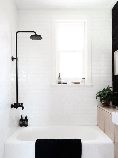 skandinavisch badezimmer - Badezimmer Skandinavischen Stil