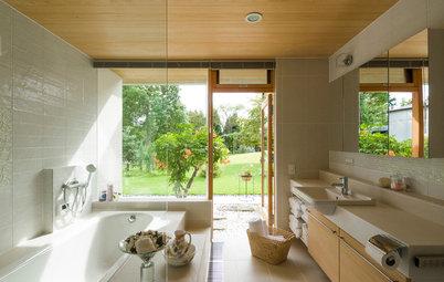 バスルームのプラン:最もくつろげるバスタブの形と設置のタイプを選ぼう!