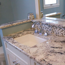 Transitional Bathroom by Auer Kitchens