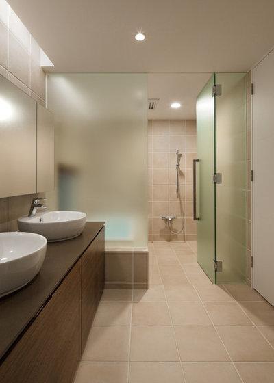 モダン 浴室・バスルーム by アトリエ137 | atelier137 Architectural Design Office