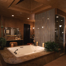 Traditional Bathroom by Pinnacle Architectural Studio