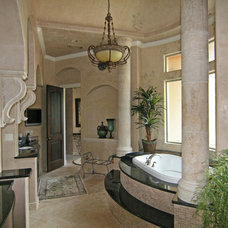Mediterranean Bathroom by HAJEK & Associates, Inc.
