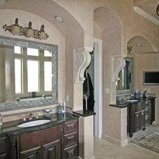 Mediterranean Bathroom by HAJEK & Associates, Inc.