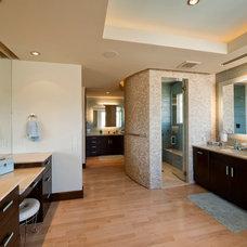 Contemporary Bathroom by Pinnacle Architectural Studio