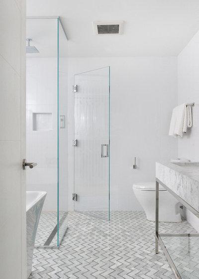 Contemporary Badrum by PEG Properties & Design