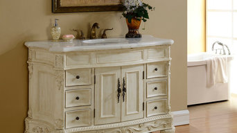 1. New vanity on display in our showroom available in 3 sizes and two finishes