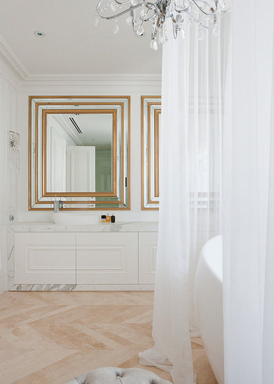Transitional Bathroom by STUDIOMINT Architecture & Interiors