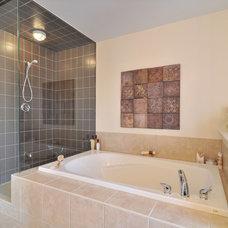Contemporary Bathroom by DigitalProperties.ca