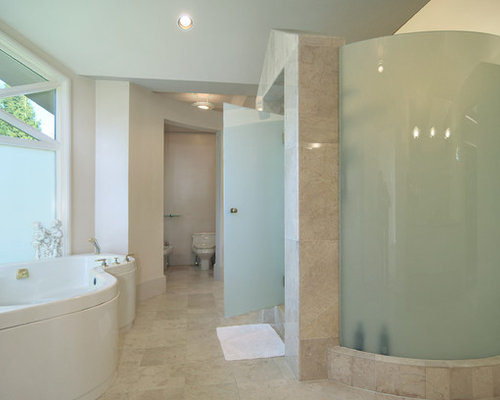 Curved Glass Shower Enclosures Home Design Ideas Pictures