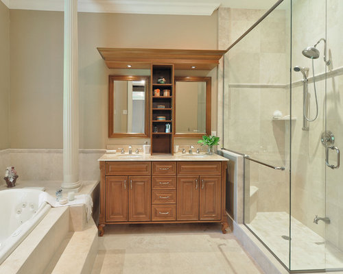 vanity next to shower ideas pictures remodel and decor