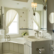 Traditional Bathroom by Ethelind Coblin Architect P.C