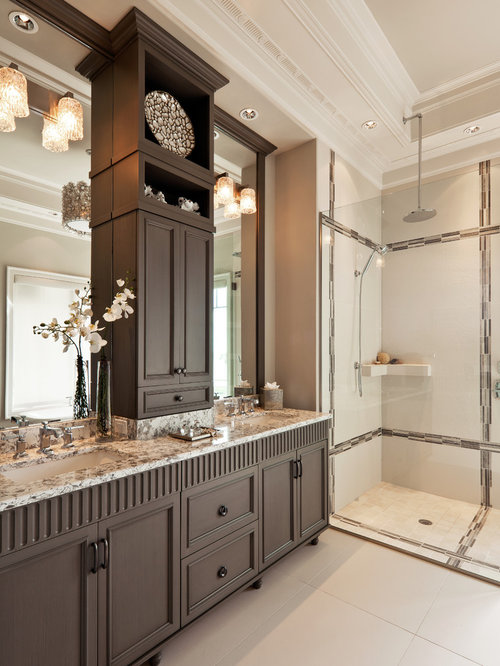 Master bath cabinet houzz for Master bathroom cabinet designs