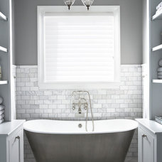 Traditional Bathroom by Milestone Custom Homes