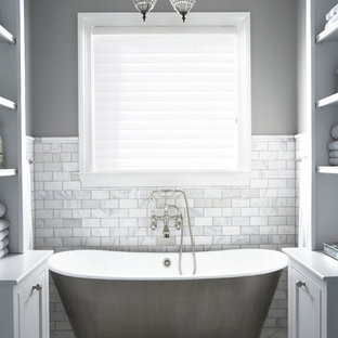 Inspiration For A Timeless Freestanding Bathtub Remodel In Other