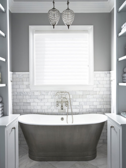 inspiration for a timeless bathtub remodel in other