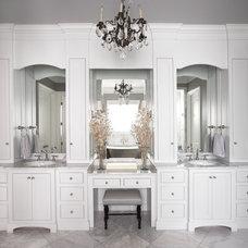 Traditional Bathroom by Milestone Custom Homes