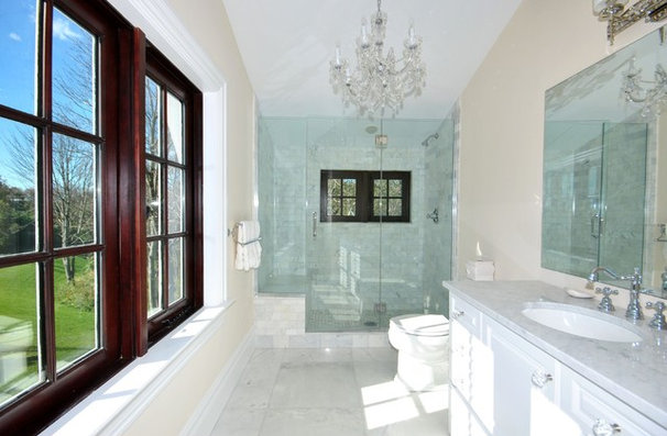 Traditional Bathroom by Oberholtzer Construction, Corp.