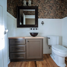 Traditional Bathroom by Wilson Associates Real Estate