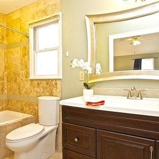 Trendy bathroom photo in Charleston