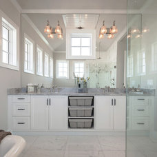 Traditional Bathroom by Kukk Architecture & Design P.A.