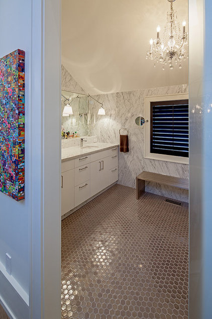 Eclectic Bathroom by Peter A. Sellar - Architectural Photographer