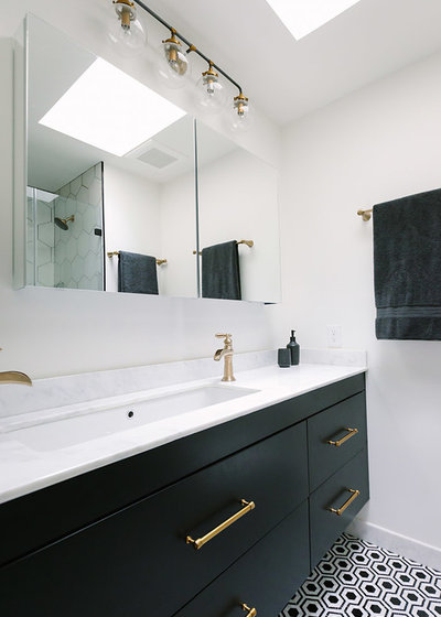 Contemporary Bathroom by Aesthetic Answers