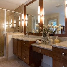 Contemporary Bathroom by MERIT HOMES