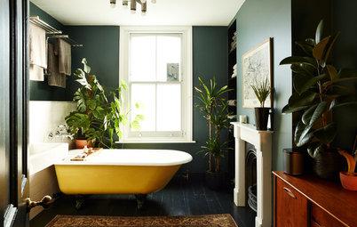 20 vidunderlige måder at integrere grønne planter på badeværelset