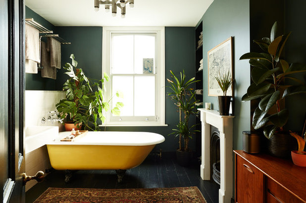 Eclectic Bathroom by ARCHEA Ltd