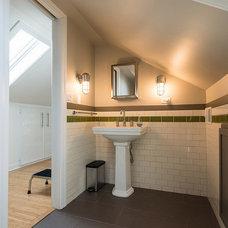 Contemporary Bathroom by Amanda Miller Design Studio