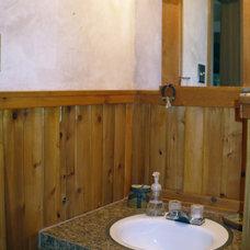 Rustic Bathroom by Diana Clary-Keller Williams Realty