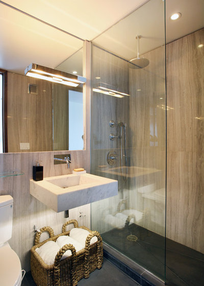 Good Contemporary Bathroom by Caroline Bass Citi Habitats