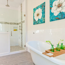 Transitional Bathroom by Simply Staged