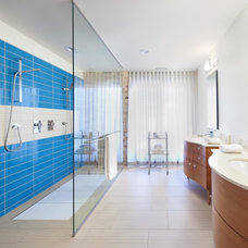 Modern Bathroom by MRSA Architects & Planners